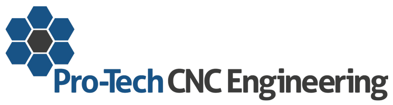 Header Image of company logo, Pro-Tech C.N.C. Engineering.